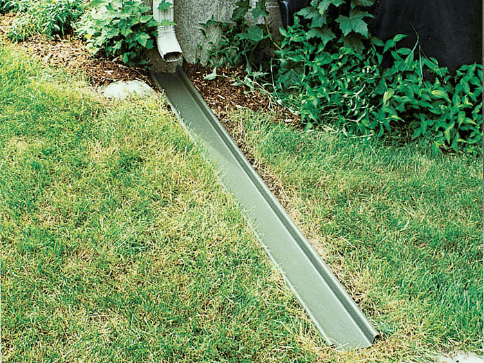 Gutter downspout extensions marlton sicklerville cherry for Gutter drainage systems design